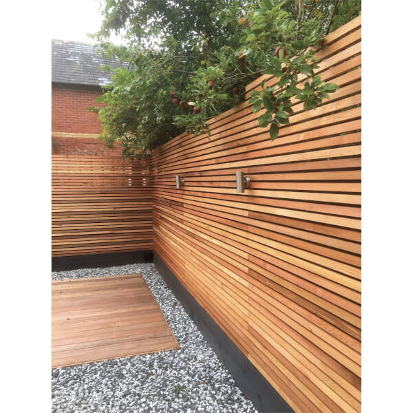 Candian Western Red Cedar SertiWOOD Battens-Screen Slats Fencing  (21 Pack) 1.65m2