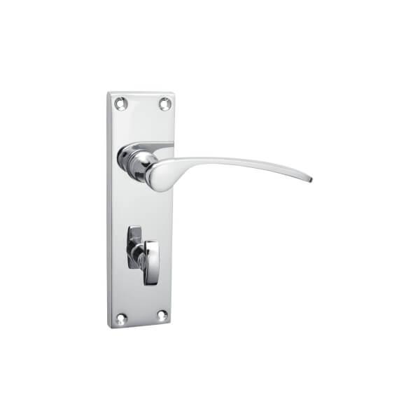 Sandleford Hartwell Bathroom Lever Set - Polished Chrome