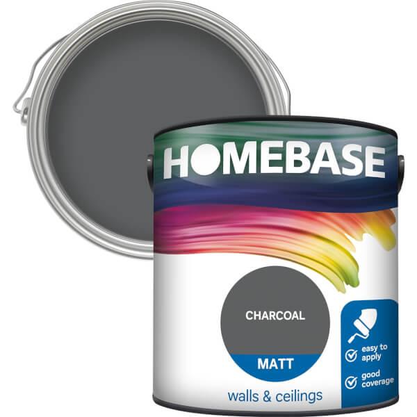 Homebase Matt Paint - Charcoal 2.5L