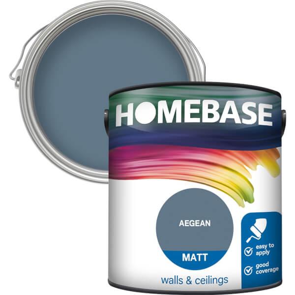Homebase Matt Paint - Aegean 2.5L
