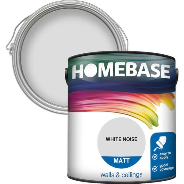 Homebase Matt Paint - White Noise 2.5L
