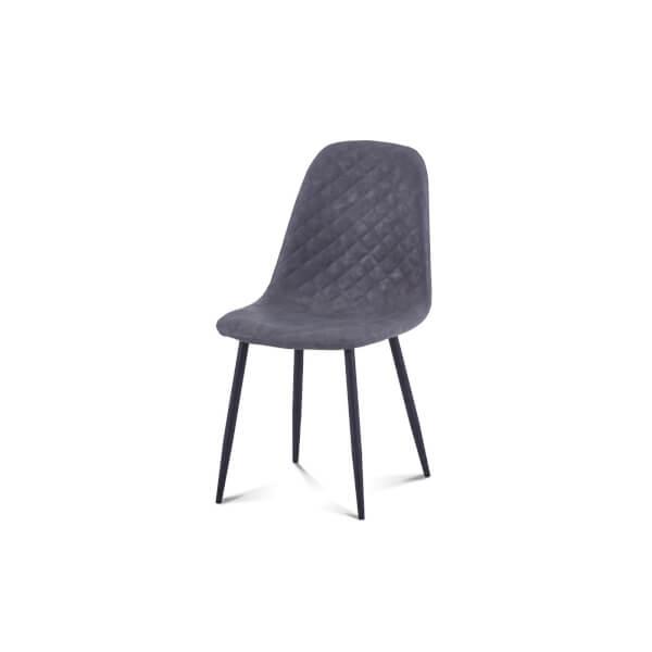 Perth Diamond Back Dining Chair - Set of 2 - Grey