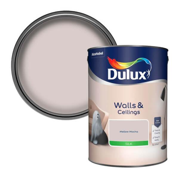 Dulux Mellow Mocha - Silk Emulsion Paint - 5L