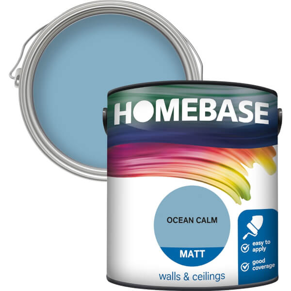 Homebase Matt Paint - Ocean Calm 2.5L