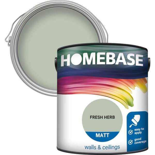 Homebase Matt Paint - Fresh Herb 2.5L