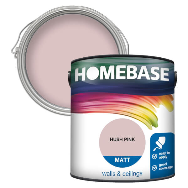 Homebase Matt Paint - Hush Pink 2.5L