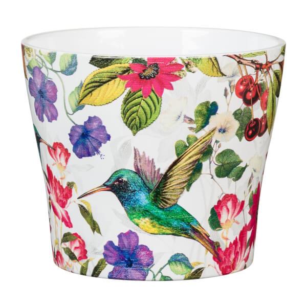 Paradise Ceramic Cover Pot  11cm