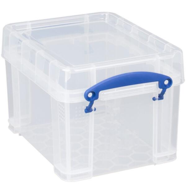Really Useful Storage Box - Clear - 3L