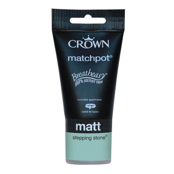 Crown Breatheasy Stepping Stone - Matt Emulsion Paint - 40ml Tester