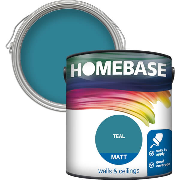 Homebase Matt Paint - Teal 2.5L