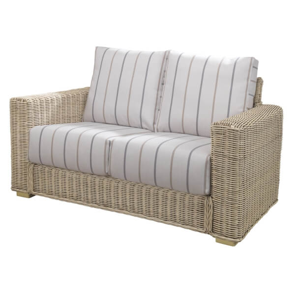 Burford 2 Seater Sofa In Linen Taupe