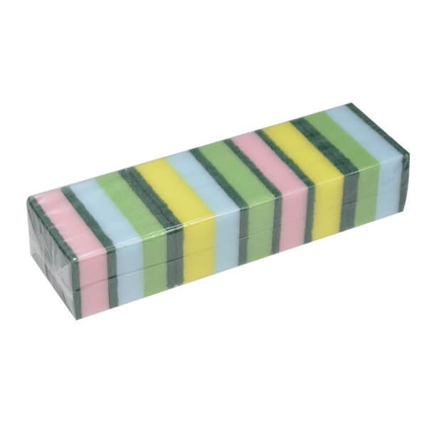 10 pack of sponge scourers