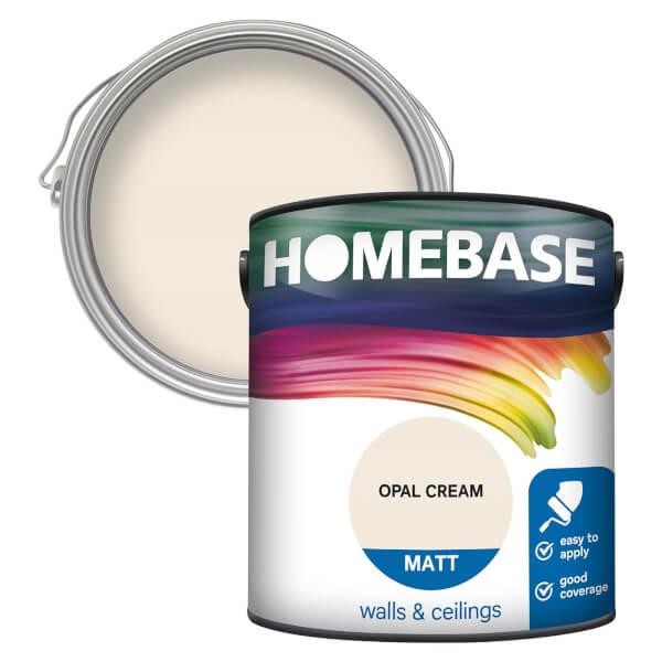 Homebase Matt Paint - Opal Cream 2.5L