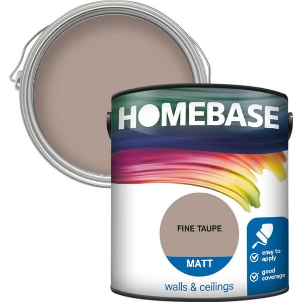 Homebase Matt Paint - Fine Taupe 2.5L