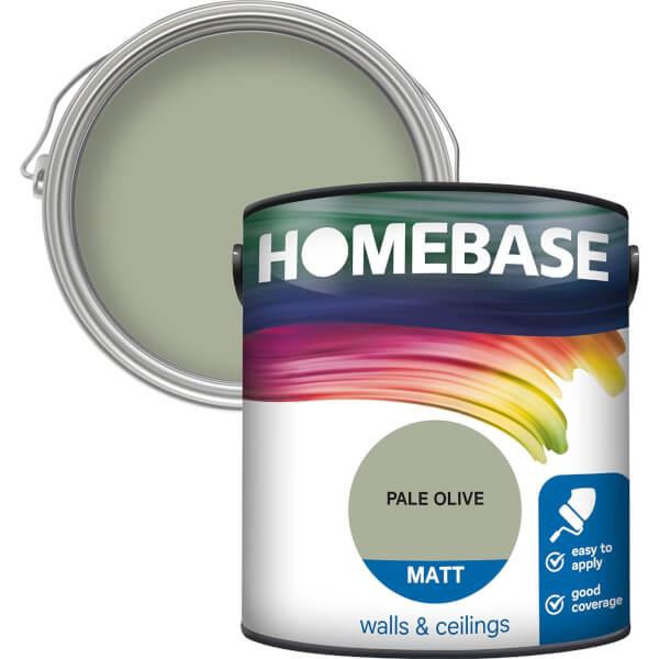 Homebase Matt Paint - Pale Olive 2.5L