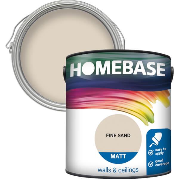 Homebase Matt Paint - Fine Sand 2.5L