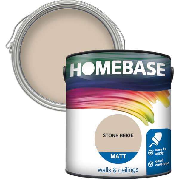 Homebase Matt Paint - Stone Beige 2.5L