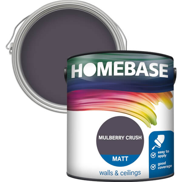 Homebase Matt Paint - Mulberry Crush 2.5L