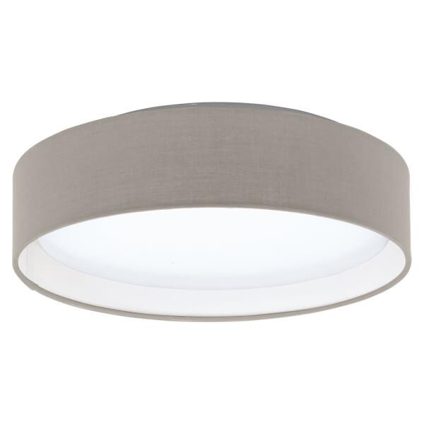 Eglo Pasteri Small Flush Light - Taupe
