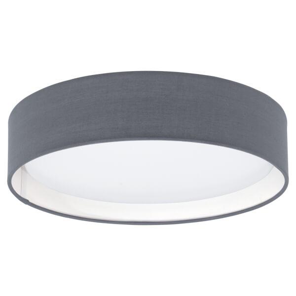 Eglo Pasteri Small Flush Light - Grey