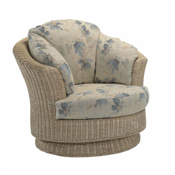 Clifton Lyon Swivel Chair In Oasis