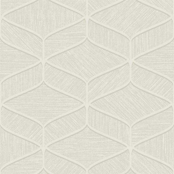Belgravia Decor Luciano Geometric Embossed Metallic Beige Wallpaper