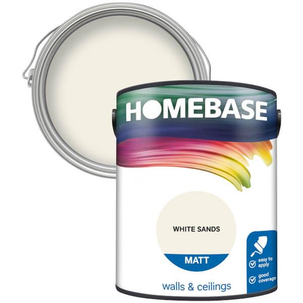 Homebase Matt Paint - White Sands 5L