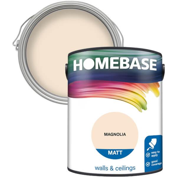 Homebase Matt Paint - Magnolia 5L