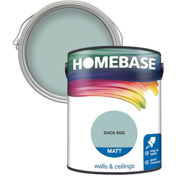 Homebase Matt Paint - Duck Egg 5L