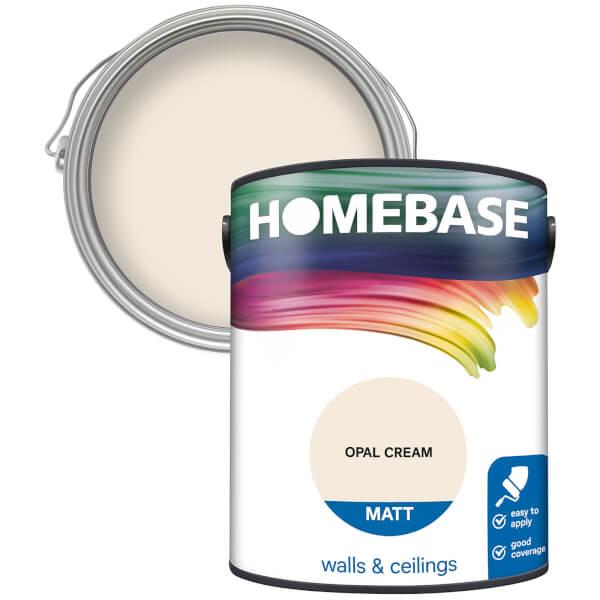 Homebase Matt Paint - Opal Cream 5L