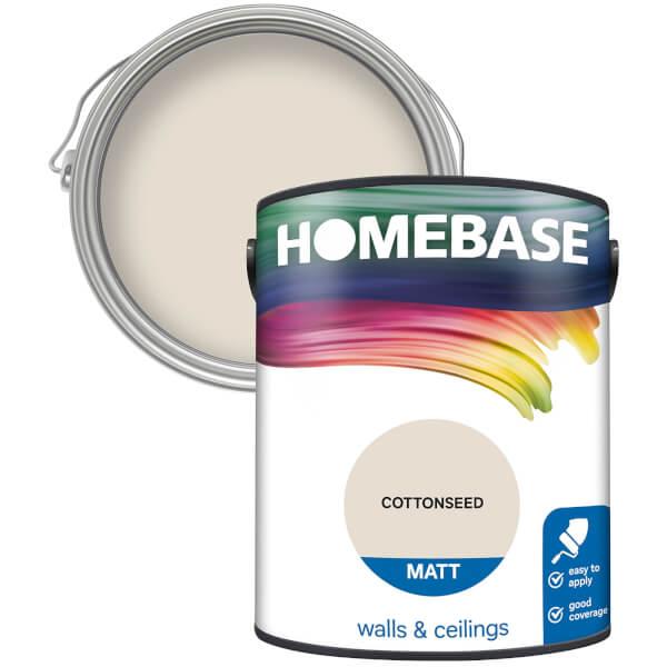 Homebase Matt Paint - Cottonseed 5L