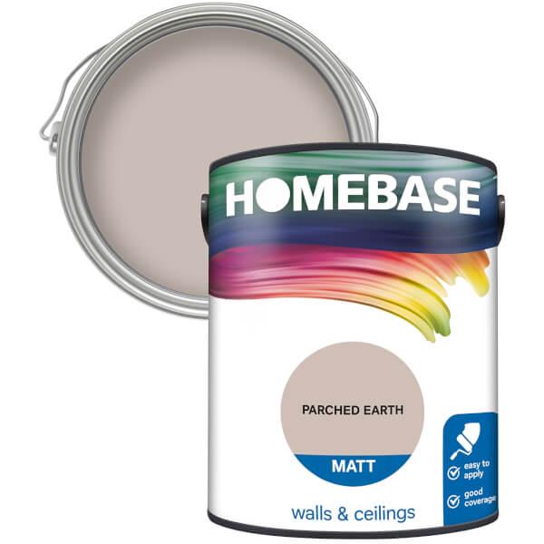 Homebase Matt Paint - Parched Earth 5L
