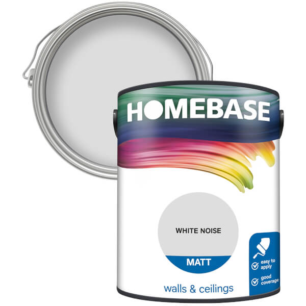 Homebase Matt Paint - White Noise 5L