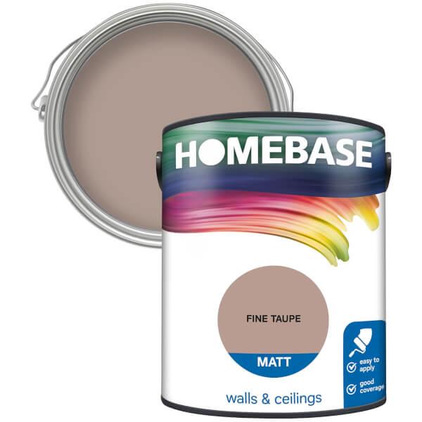 Homebase Matt Paint - Fine Taupe 5L