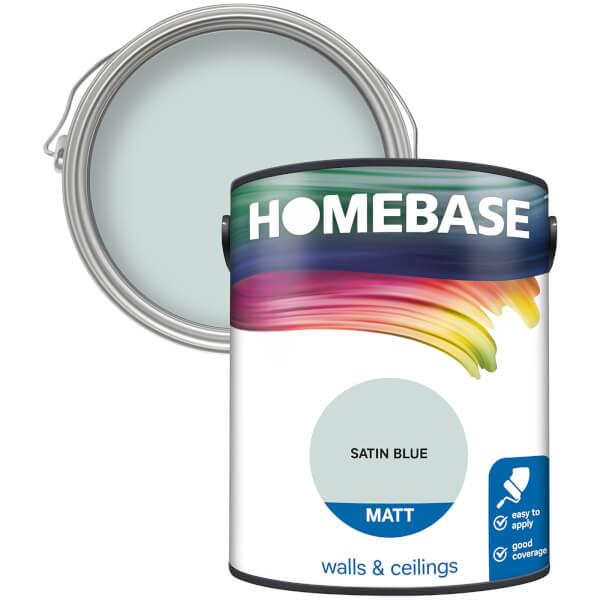 Homebase Matt Paint - Satin Blue 5L