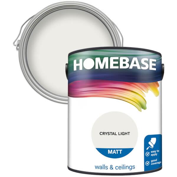 Homebase Matt Paint - Crystal Light 5L