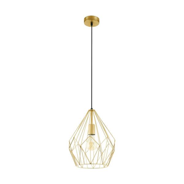 Eglo Carlton Pendant Light - Gold-Coloured