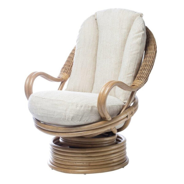 Madrid Swivel Rocker In Jasper