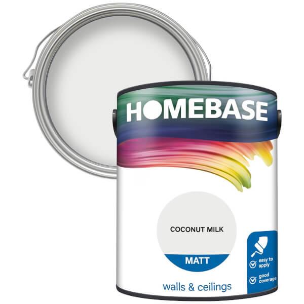Homebase Matt Paint - Coconut Milk 5L