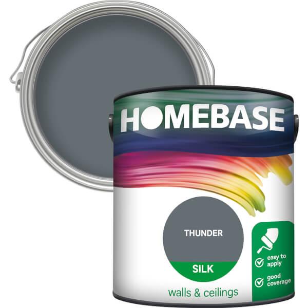 Homebase Silk Paint - Thunder 2.5L