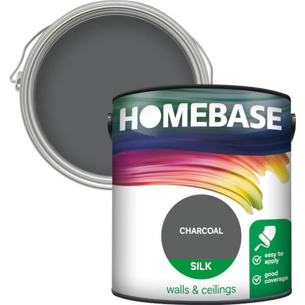 Homebase Silk Paint - Charcoal 2.5L