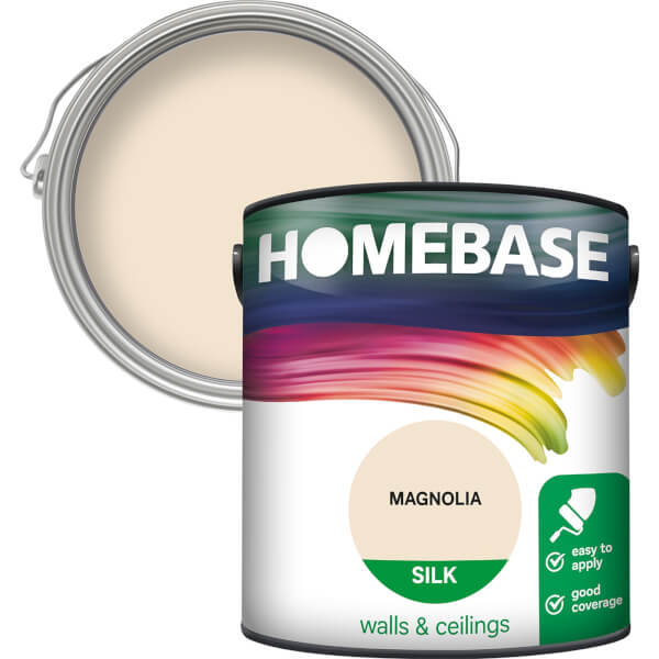 Homebase Silk Paint - Magnolia 2.5L