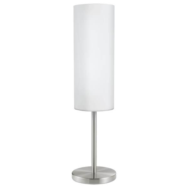 Eglo Troy 3 Table Lamp - Satin Nickel