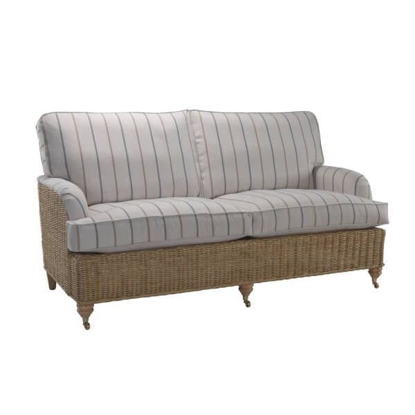 Seville 3 Seater Sofa In Linen Taupe