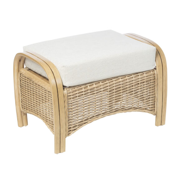 Turin Footstool In Ripple