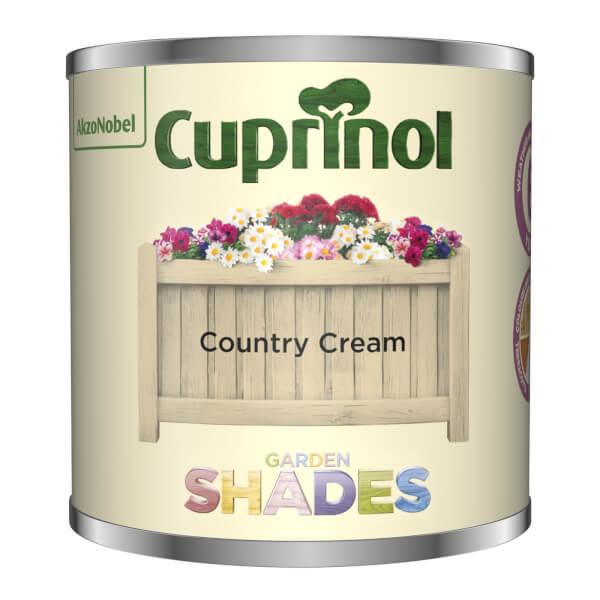Cuprinol Garden Shades Tester - Country Cream - 125ml