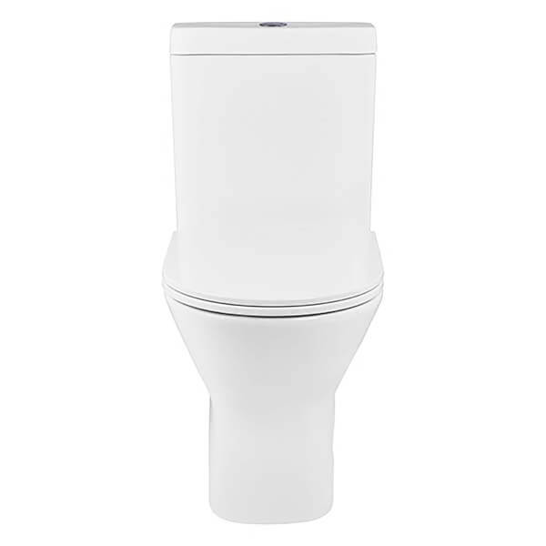 Bathstore Falcon Rimless Back To Wall Close Coupled Toilet