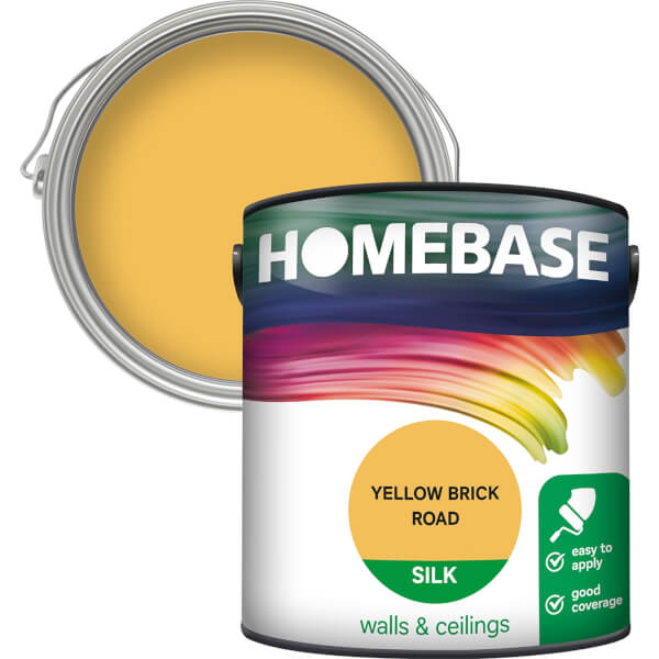 Homebase Silk Paint - Yellow Brick Road 2.5L