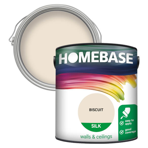 Homebase Silk Paint - Biscuit 2.5L