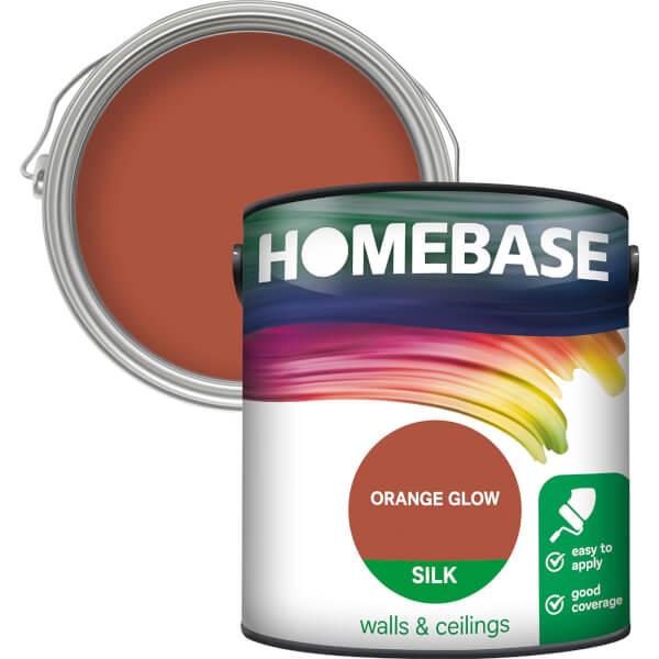 Homebase Silk Paint - Orange Glow 2.5L
